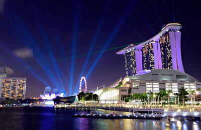 Ferries a Singapur