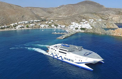 Santorini a Mykonos