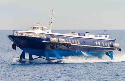 Reserva Dodecanese Flying Dolphins fácil y segura