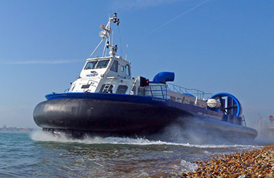 Reserva Hovertravel Ferries fácil y segura